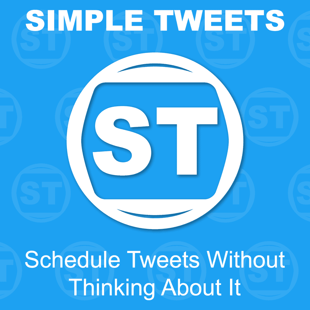 Schedule Tweets Without Thinking About It